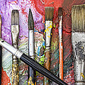 Art Is Messy 6 by Carol Leigh