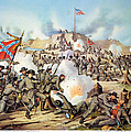 Assault On Fort Sanders by Granger