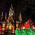Assembly Hall Slc Christmas by La Rae  Roberts