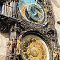 Astronomical Clock In Prague by Artur Bogacki