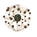 Atomic Structure, Artwork by Crown Copyrighthealth & Safety Laboratory
