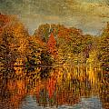 Autumn - Landscape - Tamaques Park - Autumn In Westfield Nj  by Mike Savad