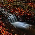 Autumn Waterfall by Irinel Cirlanaru