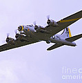 B-17g Liberty Belle Approach 8x10 Special by Tim Mulina