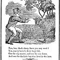 Baa, Baa, Black Sheep, 1833 by Granger