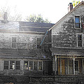 Back Of 1860's Mansion by Kristie  Bonnewell