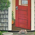 Backdoor Visitors Three  by Lin Ruch
