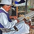 Backstrap loom - Ecuador