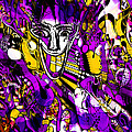 Bad Monday - Ironic Laugh -  Purple-yellow  by JL Eichers