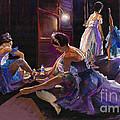 Ballet Behind The Scenes by Yuriy  Shevchuk