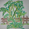 Bamboo Print by Deepa Padmanabhan