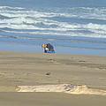 Bandon Oregon Beach Comber Prints Ocean Coastal by Baslee Troutman