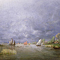 Banks Of The Loire In Spring by Charles Leroux