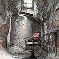Barber - Chair - Eastern State Penitentiary by Paul Ward