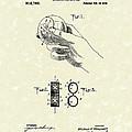 Bare Ball Curver 1909 Patent Art by Prior Art Design