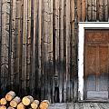 Barkerville Back Porch by Calvin Wray