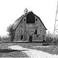 Barn 10 Print by Joel Lueck