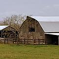 Barn In The Ozarks by Marty Koch