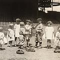 BASEBALL: BOYS AND GIRLS Print by Granger