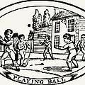 Baseball Game, 1820 by Granger