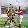 Baseball Game, C1895 by Granger