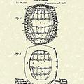 Baseball Mask 1887 Patent Art by Prior Art Design