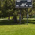 Baseball Scoreboard by Thom Gourley/Flatbread Images, LLC