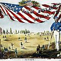 Baseball Song Sheet, 1860 by Granger