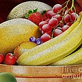 Basket Of Fruit by Cheryl Young