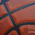 Basketball - Leather Close Up by Ben Haslam
