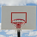 Basketball Backboard With Hoop And Net by Thom Gourley/Flatbread Images, LLC