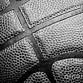 Basketball -black And White by Ben Haslam