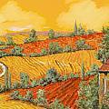 Bassa Toscana Print by Guido Borelli