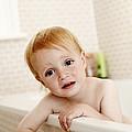 Bathing Child by Ian Boddy