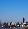 Baton Rouge Skyline Louisiana  by Susanne Van Hulst