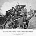 Battle Of Churubusco, 1847 by Granger