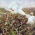 Battle Of Five Forks Virginia 1st April 1865 by American School