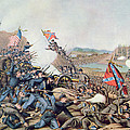 Battle Of Franklin November 30th 1864 by American School