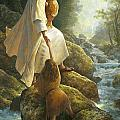 Be Not Afraid Print by Greg Olsen