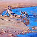 Beach Play by Graham Gercken
