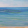 Beach Walk by Monika Shepherdson