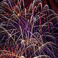 Beautiful Fireworks by Garry Gay