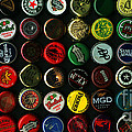 Beer Bottle Caps . 2 To 1 Proportion by Wingsdomain Art and Photography