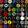 Beer Bottle Caps . 8 To 10 Proportion by Wingsdomain Art and Photography