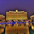 Belagio Las Vegas by Nicholas  Grunas