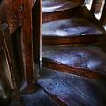 Bell Tower Steps II by John  Bartosik