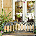 Bench On Patio by Andersen Ross