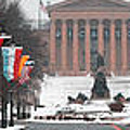 Benjamin Franklin Parkway Panorama by Bill Cannon