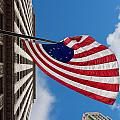 Betsy Ross Flag In Chicago by Semmick Photo