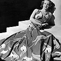 Bette Davis Wearing Gown With Calla by Everett